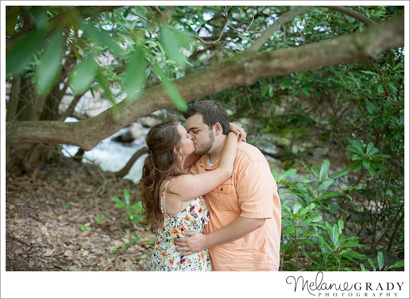 Linn Run State Park, Engagement session, Melanie Grady Photography