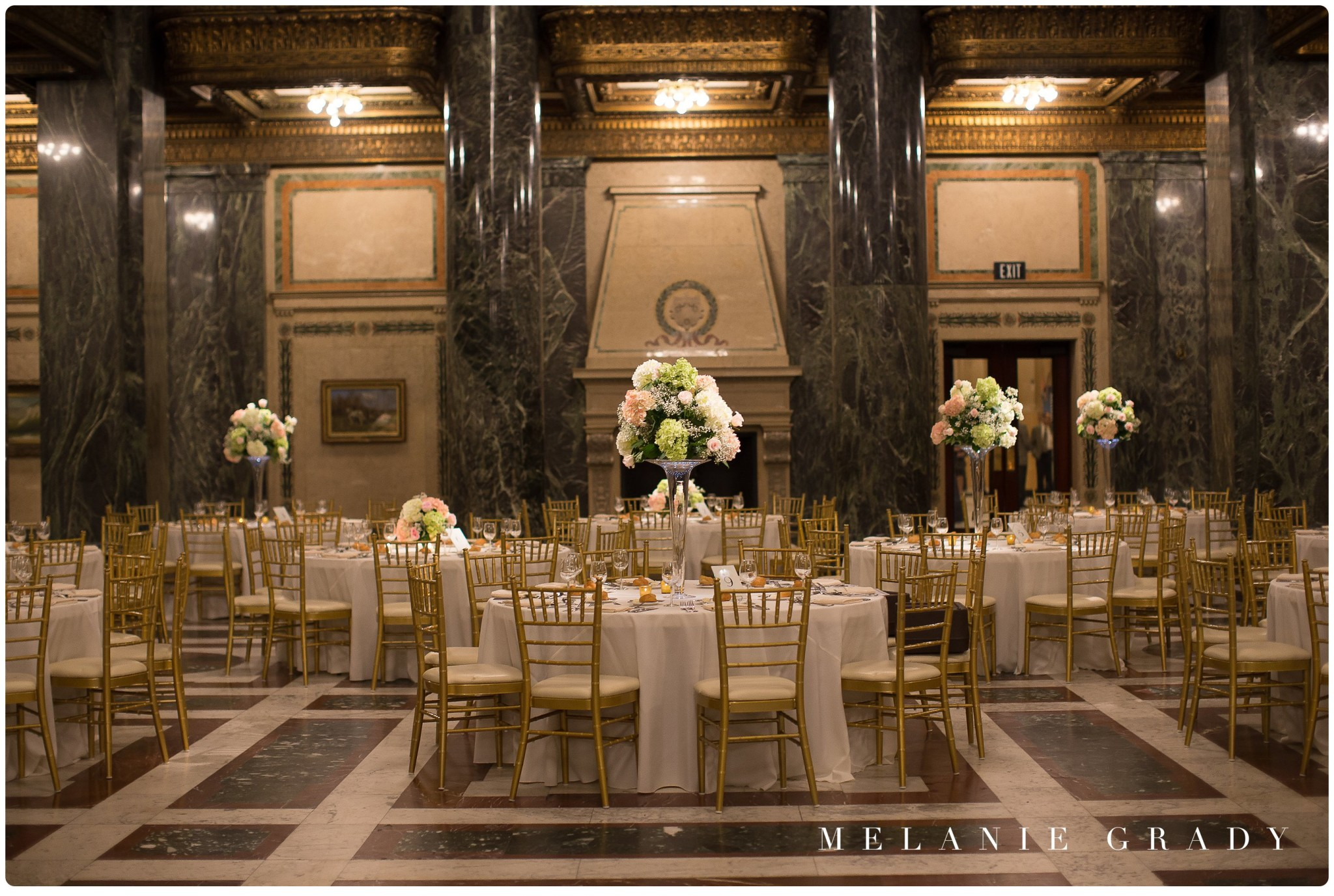 Nashville library wedding