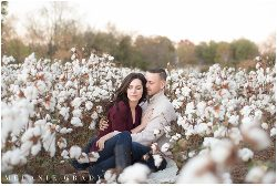 Nashville engagement photographer, cotton field engagement session, nashville cotton fields, sam davis home, southern engagement session, plantation engagement session, fall engagement session, melanie grady photography, www.melaniegrady.com, country engagement photography, farm photo shoot, engaged, bride and groom to be, nashville